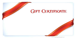 gift card word template template birthday certificate template