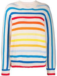 Basics Fashion Design 06 Knitwear Chinti Parker Rainbow Knit Jumper Neutrals In 2019