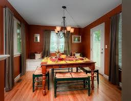 40 Red And Green Dining Rooms For The Holidays And Beyond Extraordinary Red Dining Rooms Collection