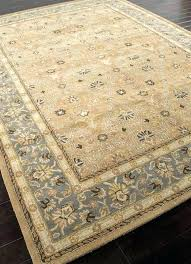 tan rug 8x10 blue area rugs rugs hand tufted oriental pattern wool taupe blue area rug