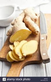 Gewürz Ingwer Wurzel Essen Nahrungsmittel Gesundheit Spice Gewürz Closeup  Grobe Aromatische Küche Küche Kochen Köche Kochen Kochen Wurzel