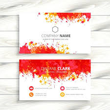 stunning painter business card template size splash paint free vectors red thumb painting contractor templates bu