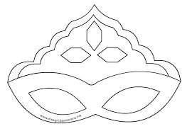 Maschere Di Carnevale Da Colorare Principesse Colorare