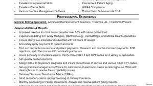 Medical Coder Resume Medical Coder Sample Resume Entry Level Inspirational For Billing 78