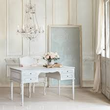 coco madame desk in silver highlight finish eloquence inc