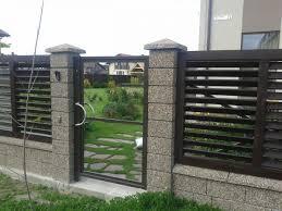 concrete fence design.  Concrete Modern Fence Design Ideas MODERN HOUSE PLAN Inside Concrete N