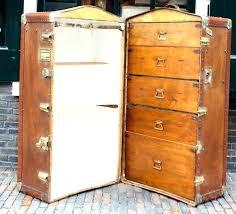 steamer trunk wardrobe wardrobe steamer trunk for vintage luggage new trunks modern steamer trunk wardrobe