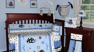 image of nautical toddler bedding