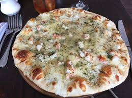 barn door shrimp sci pizza