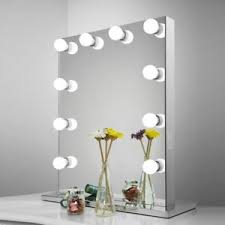 lighted mirror. image is loading aoleen-frameless-vanity-mirror-with-light-hollywood-makeup- lighted mirror