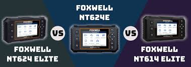 <b>Foxwell</b> NT624E Vs. NT624 <b>Elite</b> Vs. <b>NT614 Elite</b>: What is the ...