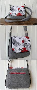 162 best Bag: Shoulder bag images on Pinterest | Sew bags, Sewing ... & Lilac mini messenger bag - free pattern Adamdwight.com
