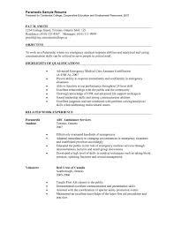 Emt Resume Sample Sample Paramedic Resume Emt Resume Sample Hirescore New Emt 13
