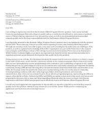 Cover Letter For A Job Position Sample Cover Letter For Board Of