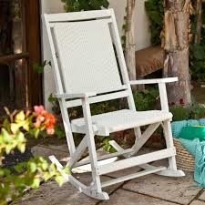 image of classic rocking chair outdoor