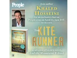 kite runner author khaled hosseini chat magazine  kite runner author khaled hosseini chat magazine com com