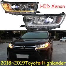 2019 Toyota Tacoma Led Fog Lights Us 380 0 5 Off 2018 2019 Highlander Headlight Hid Led Car Accessories Highlander Fog Light Camry Hiace Sienna Yaris Tacoma Highlander Head Lamp In