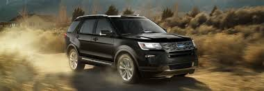2018 Ford Explorer Power And Gas Mileage Ratings
