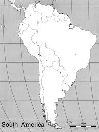 Latin America Outline Maps Map Tests