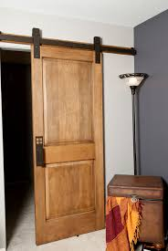 interior wooden double sliding barn doors interior img 6043with