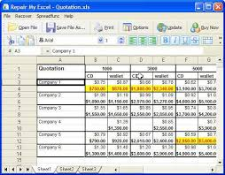 Xcel Download Excel Recovery Software Repair Excel With Recovery Software Full