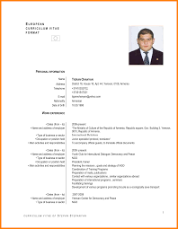 Resume English Sample Resume English folous 2