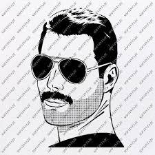Freddie mercury by paperfox #freddiemercury #queen #zanzibar #stonetown #art #icon #illustration #drawing #instaart #artistoninstagram #artwork #artist #paperfox #blackandwhite #fineliner #finelinerdrawing #finelinerart. Products Tagged Freddie Mercury Svg File Sofvintaje