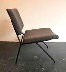 fireside chair cm190 by pierre paulin for thonet 1st version circa 1955