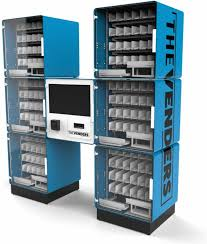 Modular Vending Machines Inspiration The Cube World's First Modular Vending System