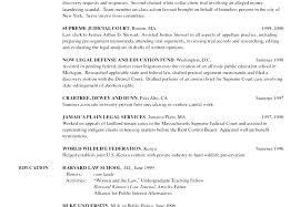 Legal Summer Associate Sample Resume Simple Sample Resume For Attorney Gyomorgyuru