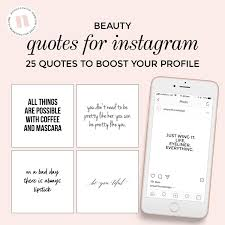 Quotes For Social Media Instagram Beauty Skincare Blogger Black And White