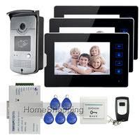 <b>7 inch RFID</b> Video Intercom System