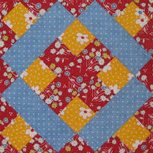 I found the pattern for this Basement Window block in 5,500 Quilt ... & I found the pattern for this Basement Window block in 5,500 Quilt Block  Designs by Maggie Adamdwight.com