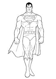 A collection of unique free printable superman coloring pages is given hereunder. Coloring Pages Superman Coloring Page For Kids