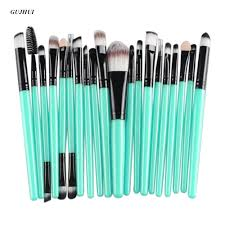 gold makeup brushes. gujhui 20 pcs rose gold makeup brushes set professional eyebrow blush foundation hair brush pen eyeshadow e