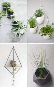 10 modern wall mounted plant holders to