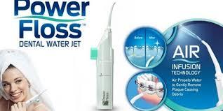 نخ دندان آبی Power Floss Water Jet به شما کمک می کند دندان هایتان را جرم  گیری کنید