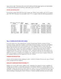 Spark Plug Setting Chart 85 Chevy Spark Plug Gap Wiring Diagrams