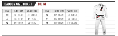 The Definitive Guide To The Bjj Gi Size Chart Attack The Back