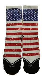 Feat Old Glory Flag Cool Socks Socks