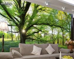 Beibehang Natural Sunshine Forest Tree ...