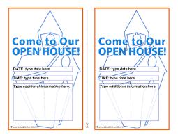 Open House Invite Samples Open House Invitation Template Education World