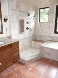 Open Shower Bathroom Remarkable Open Shower Bathroom Design With Amazing Ideas Ajara