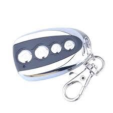 keychain garage door opener universal wireless door remote control key 4 channel electric garage door alarm