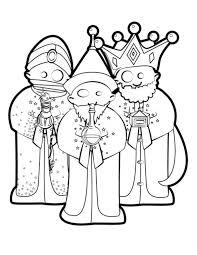 Drie Koningen Kleurplaat Jouwkleurplaten
