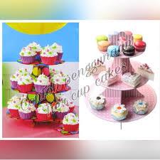 Jual Stand Cupcake Hello Kitty Cup Cake Stand Karakter Tempat
