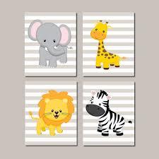 nursery decor baby animsls jungle nursery wall art elephant giraffe lion zebra zoo on elephant and giraffe nursery wall art with jungle nursery wall art elephant giraffe lion zebra zoo nursery