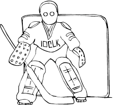 Small Picture Hockey 4 coloring page