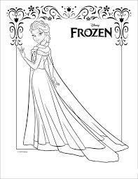 Kids N Funde Malvorlage Die Eiskönigin Anna Und Elsa Elsa 2