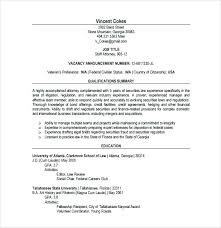 Lawyer Resume Template Word Business Sample Thekindlecrew Com